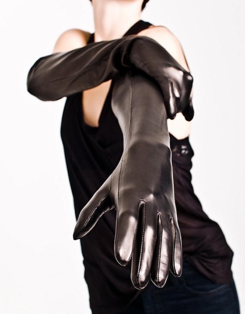 長手袋画像 ミステリアスな